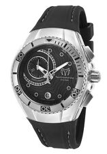 TechnoMarinE black  Cruise 114031 + BLACK  band + cover  Ret.$995  SWISS NEW