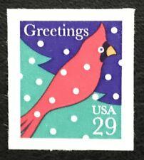 1994 Scott #2874, 29¢, CARDINAL IN SNOW - Booklet Single - Mint NH -
