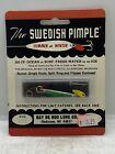 Vintage Bay De Noc Lure Co. Fishing Tackle The Swedish Pimple Fishing Lure 3ZG