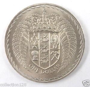 New Zealand Dollar Coin, 1967, Decimalization Commemorative