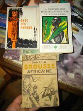 Brousse Africaine / Avec les Papous / Martyrs Ouganda