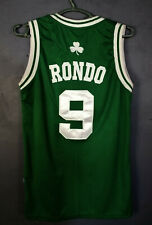 ADIDAS BOSTON CELTICS RAJON RONDO #9 NBA BASKETBALL SHIRT JERSEY SIZE S SMALL