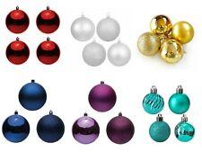 Palline palle sfere di natale decorazioni albero di natale addobbi in plastica