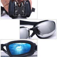 Pro Adult Waterproof Anti-Fog UV Protect Swim Swimming Goggles Glasses EN