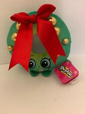 "Shopkins Stuff Animal Plush Plushie 6"" Holly Wreath Christmas Holiday Doll"