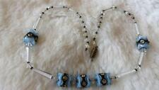 Diamante Glass Vintage Costume Necklaces