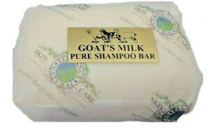Goat's Milk PURE Shampoo Bar. Reduce your plastic use, eco, green Vegetarian
