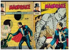 1967/69 - Mandrake - 2 hebdo(N°133 N°216) - Edit.des Remparts