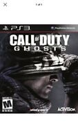 Call of Duty: Ghosts PS3 Brand New SEALED BONUS MAP