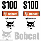 Bobcat S100 DECALS Stickers Skid Steer loader New Repro decal Kit