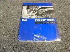 2009 Buell P3 Blast Motorcycle Shop Service Repair Manual New
