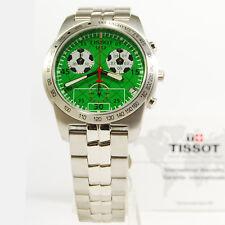 tissot orologio uomo cronografo acciaio  pr50 chrono football raro da collezione