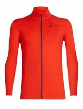 Icebreaker Fluid Zone Jacket (M) Chili Red / Monsoon