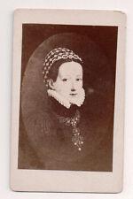 Vintage CDV Philippine Welser morganatic wife  Ferdinand II, Archduke of Austria