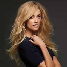 Fashion Sexy Ladies Long Curly Blonde Cosplay Party Heat Resistant Hair Full Wig