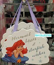 PRIMARK HOME Disney arielthe Petite Sirène décoration mural Signe Plaque