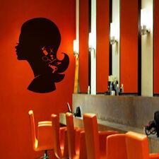 Inspiration Wall Decal Girl Woman Beauty Hair Salon Shop Window Vinyl Art Decor