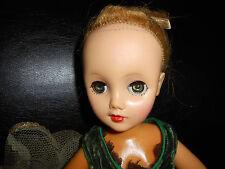 """Eegee little debutante? 17"""" 1950's doll"""