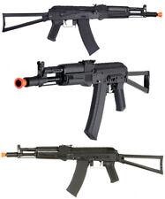 Lancer Tactical AKS-104 Full Metal Gear Airsoft AEG Rifle & Side Folding Stock
