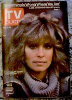 TV Guide 1978 Charlie's Angels Farrah Fawcett Majors International VG COA Rare