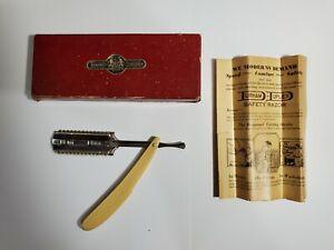 Unused Vintage DURHAM DUPLEX RAZOR -  Box &  Instructions