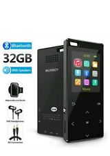 MP3 Player, 32GB with bluetooth4.2,Portable Lossless Digital Audio Player -Black
