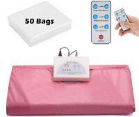 Sauna Blanket Far-Infrared Heating Blanket w/50pcs Sheetings Anti Ageing Beauty