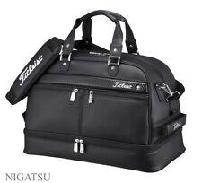 NEW Titleist unisex AJBB67-BK black Boston bag AJBB67 From JAPAN