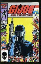 G.I. JOE: A REAL AMERICAN HERO #53 VF 1982 MARVEL COMICS 1st PRINT