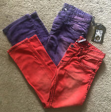 RNT23 Jeans. Bundle Of Red And Purple Jeans Size 32