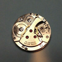 AS 1187 gents mechanical watch movement - 10. 5 Ligne - good for restoration
