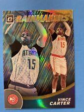 New listing 2019-20 panini optic basketball - Vince Carter - Rainmakers GOLD 09/10 Hawks SSP