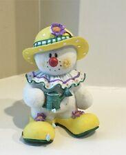 Rare 2002 Sarah's Attic Snowonders #0005 May Spring Snickers Clown