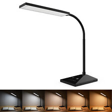 Touch Sensor Reading Lamp LED Table Desk Light Dimmable Memory Function 72 Leds