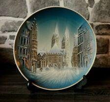 VP1-14) Rosenthal Porzellan Weihnachten Bremen handgemalt Design Georg Küspert