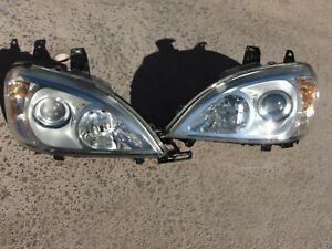 02-05 Mercedes ML320 ML350 ML500 Headlights Restored Lenses Xenon LH & RH Both