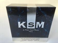 KSM by Kristel Saint Martin 3.3/3.4 oz for Men Eau de Toilette  NIB New In Box