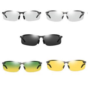 Photochromic Sunglasses Polarized UV400 Day Night Vision Driving Glasses