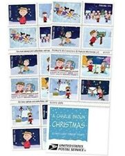 Brand new - Charlie Brown Christmas USPS Forever Stamps, Book of 20 1 Pack