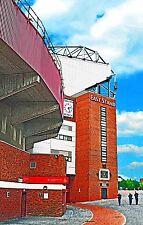 Manchester United - East Stand & Munich Clock