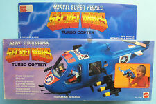 SECRET WARS Turbo Copter MARVEL SUPER HEROES Captain America Avengers Mattel
