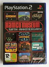PS2 Namco Museum 50th Anniversary (2006), UK Pal, Brand New & Factory Sealed