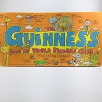 "Vintage Board Game ""Guinness Book of World Records"" 1979 Complete Never Played"