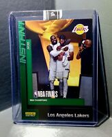 LeBron James & Anthony Davis 2020 Panini LA Lakers NBA Champions #27 Card 10/10