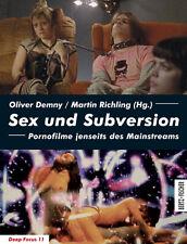Sex und Subversion: Pornofilme jenseits des Mainstreams (Deep Focus) Oliver ...