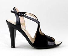 REPETTO PARIS  Palato Sandals Womens Leather Black Heels Shoes Size EUR 38.5