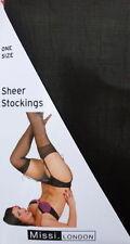 Elastane Glamour Stockings & Hold-ups for Women