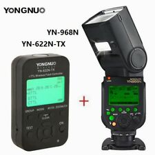 Yongnuo YN968N LED Wireless HSS TTL Flash Speedlite+ YN622N-TX Trigger for Nikon