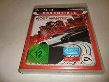PlayStation 3 PS 3   Most Wanted