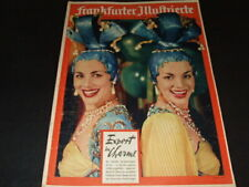 "Alice & Ellen Kessler … on cover … ""Frankfurter Illustrierte"" … 1956"